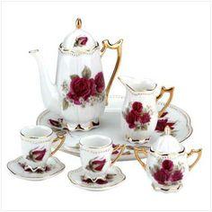 Miniature China Tea Set.