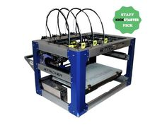 An affordable commercial-grade 3D printer, offering high speed, large build volume, and specially designed for composite filaments.