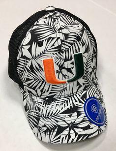 81e4b852 Miami Hurricanes 2 Loud Velcro Strapback Trucker Hat. Strapback HatsMiami  HurricanesMan ...