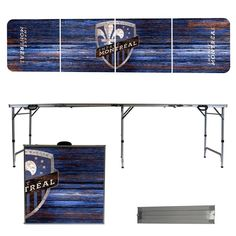 Montreal Impact Weathered Folding Table