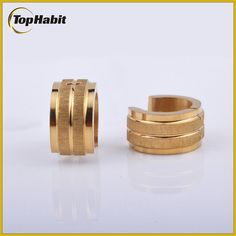 Features of Small Hoop Gold Plated Stainless Steel Huggie Earrings: Tophabit®Small Hoop Gold Plated Stainless Steel Huggie Earrings is a perfect choice for those who are allergic to some metal, because it is nickel free, lead free and chromium free.   Small Hoop Gold Plated Stainless Steel Huggie Earrings Itdoesnotoxidizeandwillbeverydurable It'satopfashionaccessorytocomplementyourwardrobe