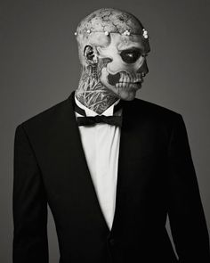 Rick Genest (AKA Zombie Boy) for Mugler