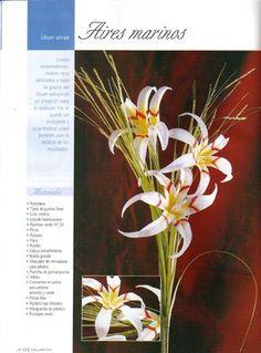 Flores de porcelana fria, paso a paso, tutoriales y videos. Cold porcelain flowers tutorials with videos.