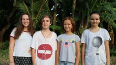 Young activists in Asia campaign against palm oil and plastic bags