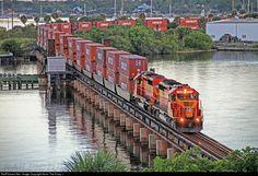 RailPictures.Net Photo: FEC 720 Florida East Coast Railroad (FEC) EMD SD40-2 at Stuart, Florida by Kevin The Krazy 1