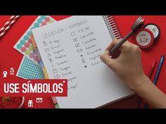 Daily Planner   Planeje com Símbolos :) - YouTube