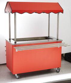 Parry Scart - Salad Merchandising Cart