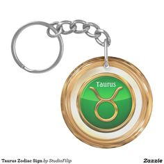 Taurus Zodiac Sign Double-Sided Round Acrylic Keychain | 15% OFF anything | Enter coupon code ALLOVERSTYLE during checkout |. Good through April 6, 2016 11:59PM PT