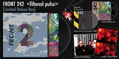 Front 242 reissues 'Pulse' + 'Still & Raw' in remastered version in several formats including boxset with loads of extras (incl. live recording - Side-Line Music Magazine Front 242, Live Cd, 35th Anniversary, Music Magazines, Partners In Crime, Electronic Music, Be Still, Belgium, Gothic
