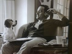 Paul Van Dyk + Dog. Love!