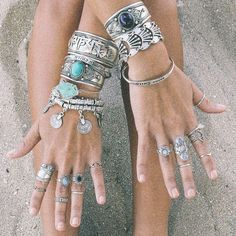 <3 Stacking Style. Build your look at http://www.shopdixi.com!