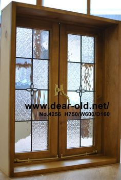 House Windows, Windows And Doors, Leaded Glass, Stained Glass, Garage Remodel, Love Home, Window Design, Glass Panels, Woodworking Projects