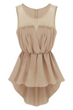 ROMWE | Cut-out Asymmetric Skin Dress, The Latest Street Fashion #ROMWE