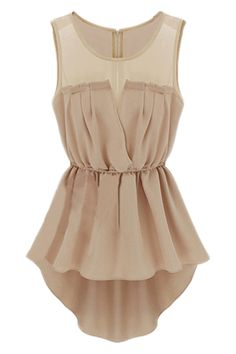 ROMWE   Cut-out Asymmetric Skin Dress, The Latest Street Fashion #ROMWE
