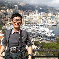 #Rocher ในส่วนของโมนาโก #พี่ก็มาอีกรอบ #PortHercule ##วิวแจ่มเหมือนเดิม #Monaco #ville #Monte Carlo #เที่ยวเอง by kingkonge from #Montecarlo #Monaco