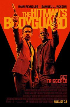 The Hitman's Bodyguard A bodyguard is called in to escort a hitman to a trial. It's violent, but a funny team-up. Stars Ryan Reynolds, Samuel L. Jackson, and Gary Oldman. Elodie Yung, Gary Oldman, Ryan Reynolds, Movies And Series, New Movies, Movies To Watch, 2017 Movies, Movies Free, Tv Series
