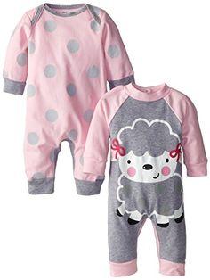Gerber Baby-Girls Newborn 2-Piece Long Sleeve Coverall Set- Sheep, Pink, 0-3 Months Gerber http://www.amazon.com/dp/B00MN9BJWY/ref=cm_sw_r_pi_dp_xVlDub1MSP6FM
