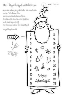 Der Skizzenblog-Adventskalender – Skizzenblog Christmas Time, Xmas, Saint Nicolas, Homeschool, Bullet Journal, Diy, Winter, Colouring, Advent Calendar
