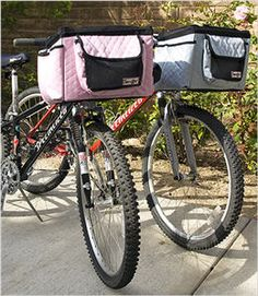 for the puppy... Snoozer Bike Basket - Buddy