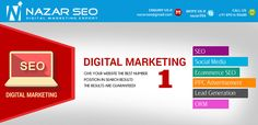 SEO and Social Media Marketing Services  This is Nazar 10+ Years Experience in SEO,SEM,Social Media and Digital Marketing Techniques Working as a Internet Marketing Manager in Bangalore,India, I Have Done Above 2500+ Projects in SEO and Various Digital Marketing Industry,With the Help of SEO, Make your website to visbile to  Search Engine , This will improves the high quality of traffic through the help of higher rankings in Search Engines Result Page