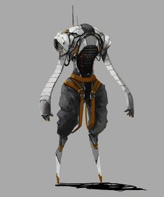 Image result for sci fi security robot