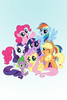 My favorite little ponies :)