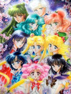 new Sailor Senshi artwork by Naoko Takeuchi <3