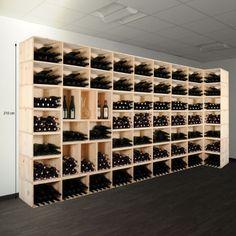 Weinregale - Weinlagerkisten VENETO aus Holz