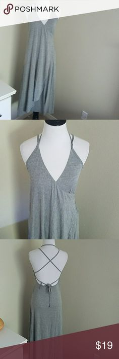 Jersey wrapped  summer dress Jersey material thinner for.summer, stretchy and extremely soft. Tie at back. Brand new without tags Dresses Midi