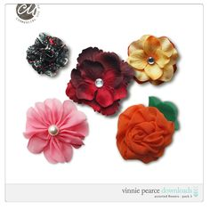 Assorted Flowers - Pack 3