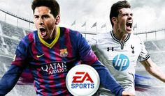 Cover of FIFA 14 : Gareth Bale and Lionel Messi