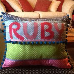 Ruby's cushion