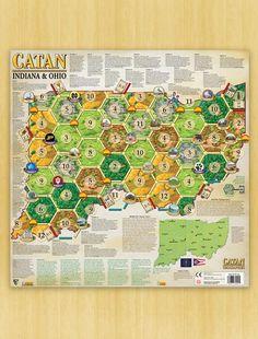 Catan Geographies: U.S.A. - Indiana – Ohio