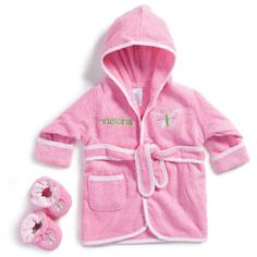Personalized Butterfly Robe with Booties - Walmart.com