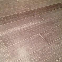 New Manhattan grey bamboo floor (Home Depot)