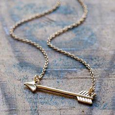 FashionJunkie4Life - Gold Sideways Arrow Necklace, $28.00 (http://www.fashionjunkie4life.com/gold-sideways-arrow-necklace/)