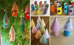 50 Manualidades originales hechas con tubos de cartón y rollos de papel higiénico! – Ecología Hoy
