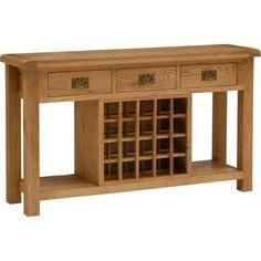 wine rack sideboard - Google Search