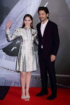Felicity Jones and Diego Luna.