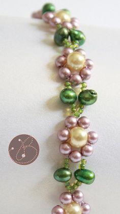 Dainty Daisy Pearl ... by ClaudineMJ | Jewelry Pattern