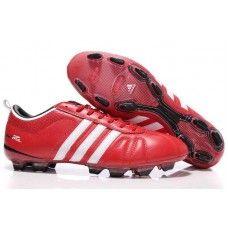 d8a633c68 Adidas AdiPURE IV TRX FG Mens Futebol Cleat-Vermelho Branco Preto sapatos  baratos de futebol