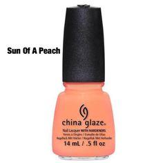 "China Glaze ""Sun Of A Peach"""