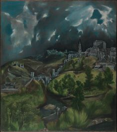 El Greco, View of Toledo, ca. 1599-1600 | The Met