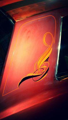 Sign Painting, Car Painting, Pinstripe Art, Auto Paint, Pinstriping Designs, Impalas, Graffiti Drawing, Signwriting, Rat Fink