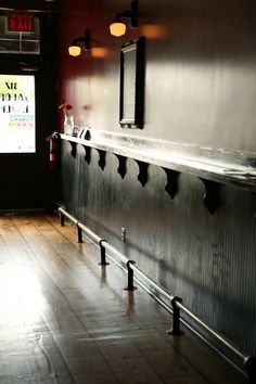Saddle up to the drink rail and order a beer from one of our 16 taps.