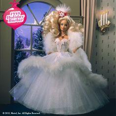 1989 Holiday Barbie #holidaybarbie