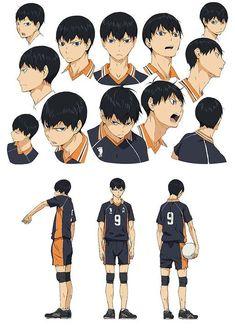 Haikyuu Kageyama, Manga Haikyuu, Kuroo, Hinata, Anime Manga, Anime Guys, Anime Art, Kagehina, Haruichi Furudate