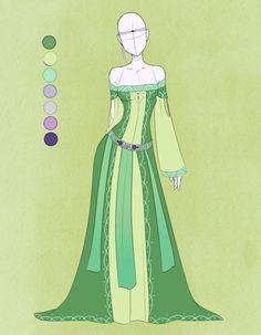 :: Commission October 05: Outfit :: by VioletKy.deviantart.com on @DeviantArt