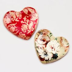 Heart Paperweights from World Market - perfect to hold down a 'good morning' love note
