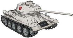 Platz 1/35 Girls und Panzer T34/85 Pravda High School ver. Plastic Model JPN 33